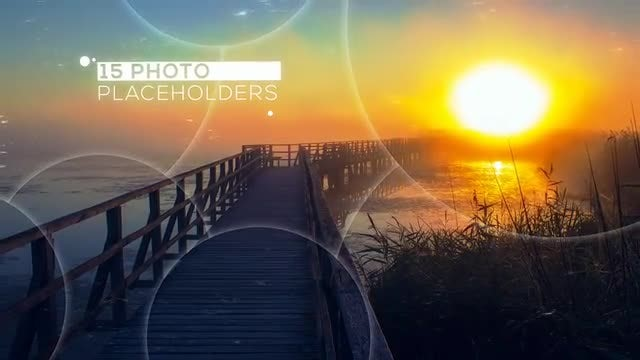 Intro Circle Slideshow: After Effects Templates
