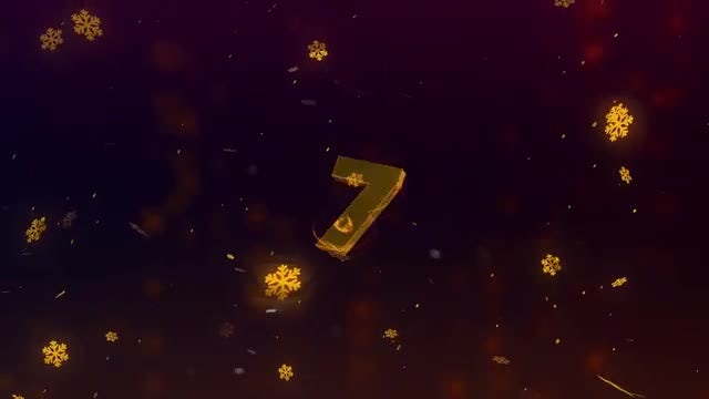 New Year 2019 Countdown: After Effects Templates