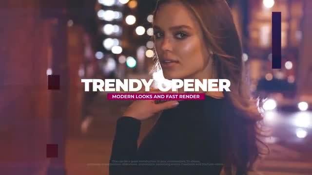 Trendy Opener: Premiere Pro Templates