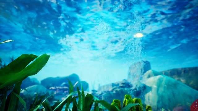 Underwater - Blue World 7: Stock Motion Graphics