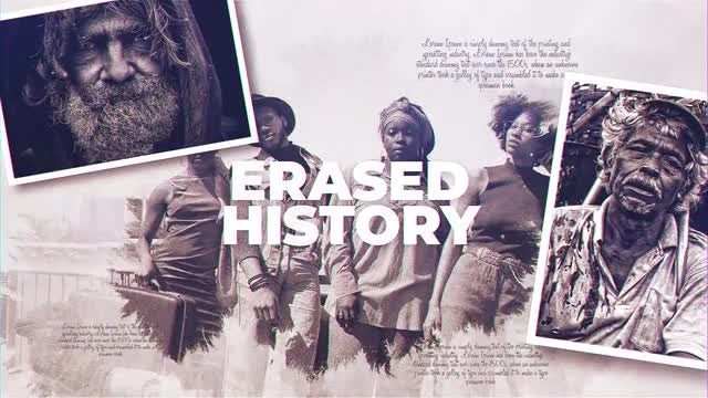 Erased History: After Effects Templates