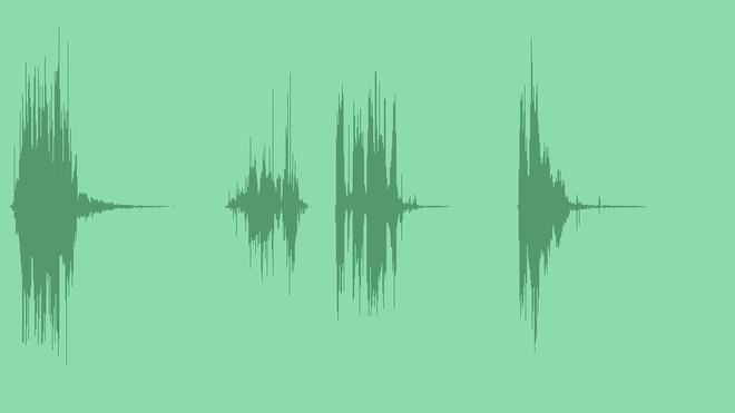 Glitch Reveal Intro Logo: Sound Effects