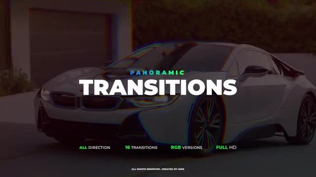 Panoramic Transitions: Premiere Pro Templates