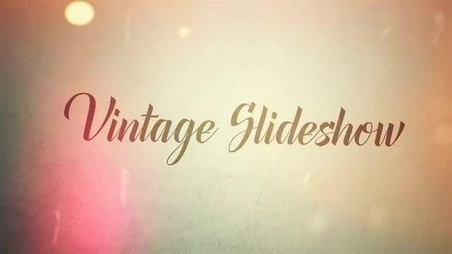 Vintage Slideshow: After Effects Templates