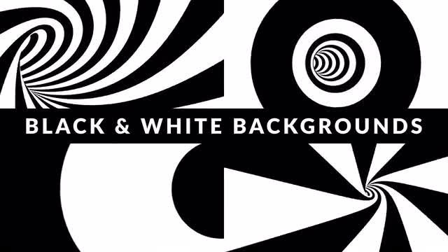 Black And White Stripes Pack: Stock Motion Graphics
