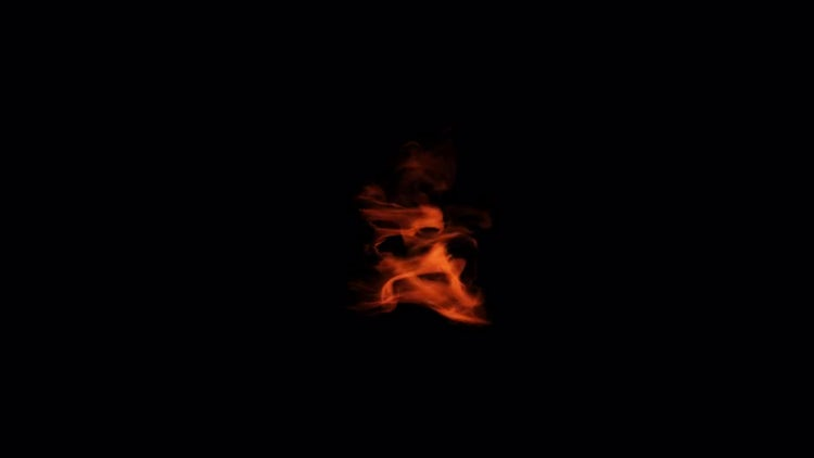 Slow Motion Fire 01: Stock Video