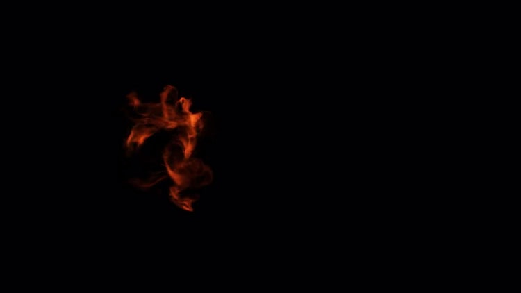 Slow Motion Fire 03: Stock Video