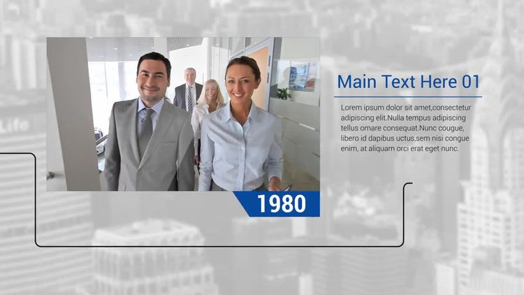 Corporate Timeline: After Effects Templates