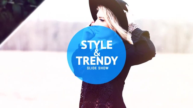Style & Trendy Slideshow: After Effects Templates
