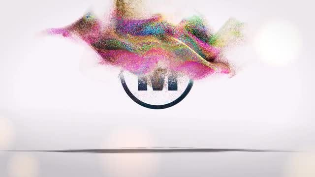 Particles Logo 1: After Effects Templates