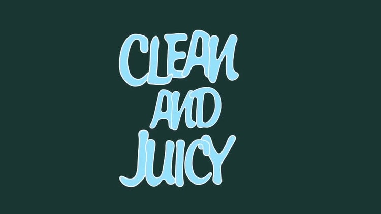 Juicy Alphabet: After Effects Templates