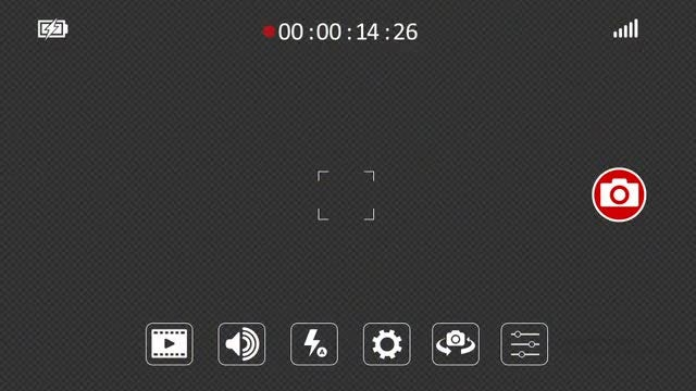 Phone Recording Screen: Stock Motion Graphics