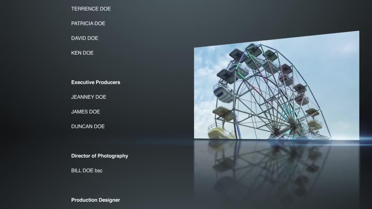 End Credits - Premiere Pro Templates | Motion Array