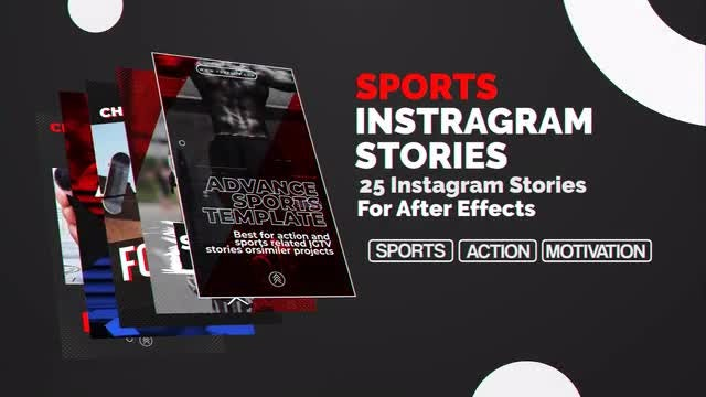 Sports Instagram Stories: After Effects Templates