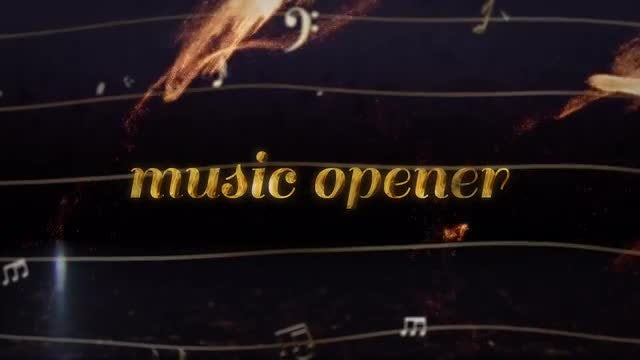 Music Opener: After Effects Templates