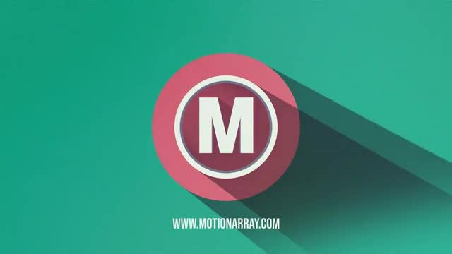 Flat Shadow Logo: After Effects Templates