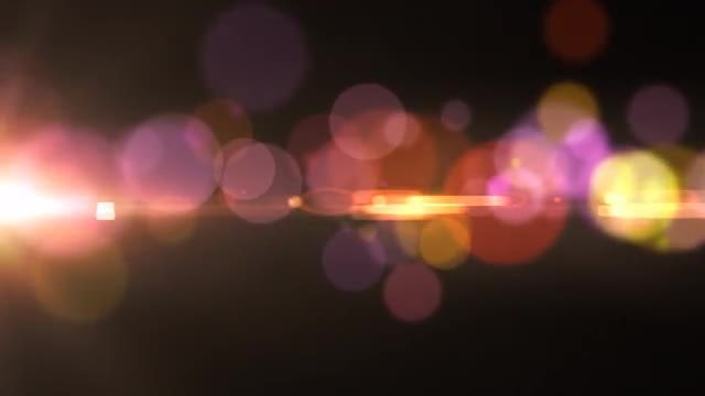 Bokeh Flow: Stock Motion Graphics