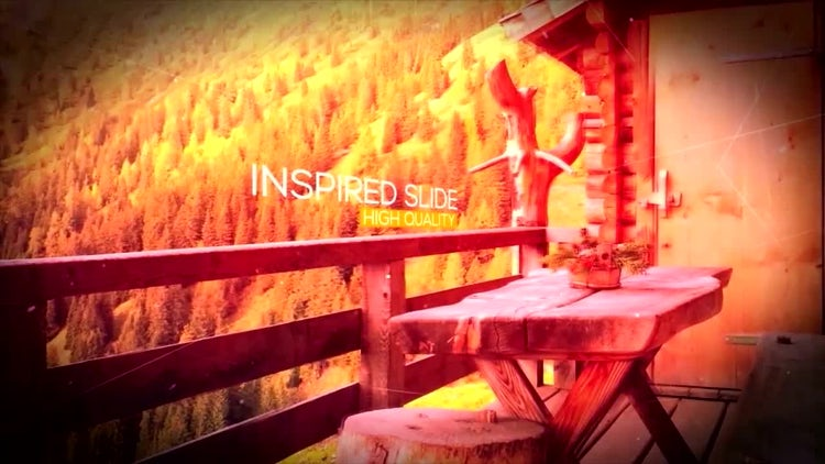 Parallax Inspired Slide: After Effects Templates