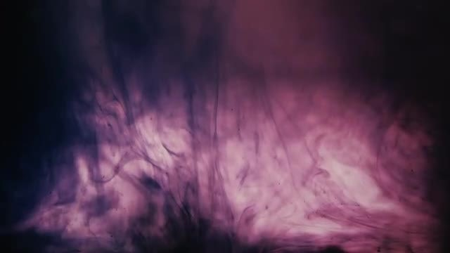 Black Ink Swirling In Water: Stock Video