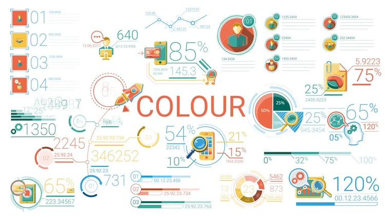 30 Abstract Infographic Elements: Stock Motion Graphics