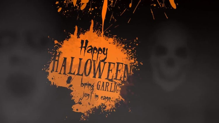 Halloween Ghosts: After Effects Templates