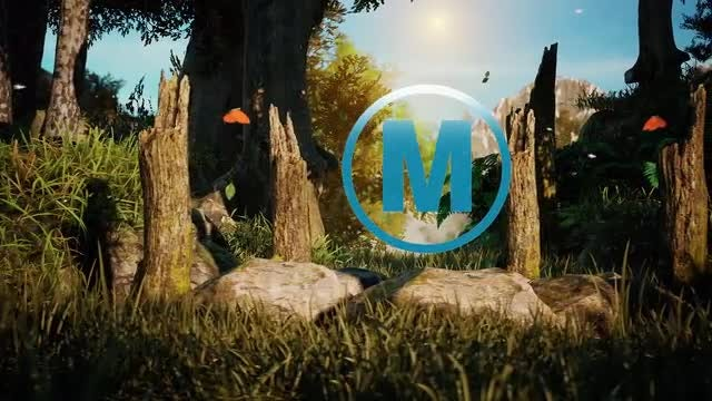 The Heart Of The Nature Logo Reveal: After Effects Templates