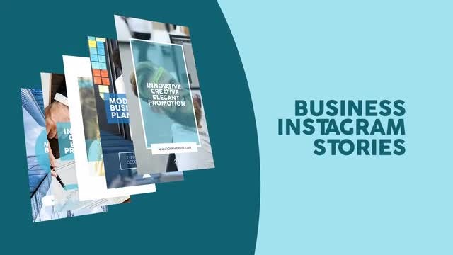 Business Instagram Stories: After Effects Templates