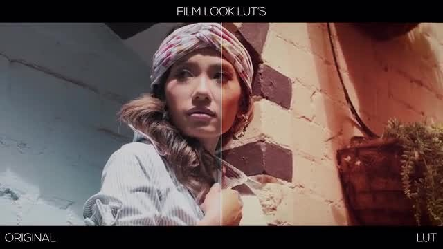 Film Look LUTs & Footages: Premiere Pro Presets