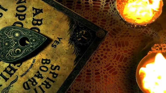 Ouija Board: Stock Video