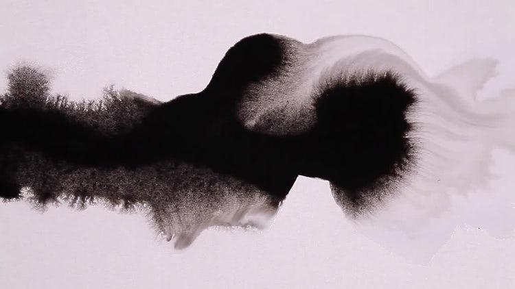 Ink Flow 01: Stock Video