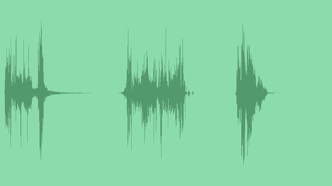 Glitch Opener Intro Logo: Sound Effects