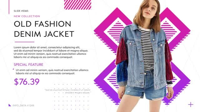 Modern Fashion Shop: After Effects Templates