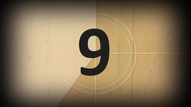 Countdown: Stock Motion Graphics