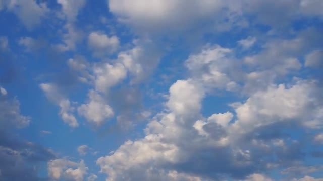Clouds Sky 4K Time Lapse: Stock Video