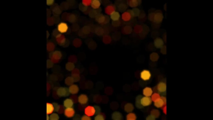Big Bokeh Sparkles Background: Stock Motion Graphics