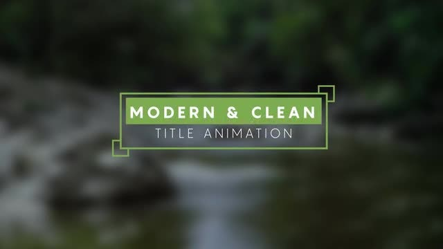 15 Minimal Titles v2: After Effects Templates