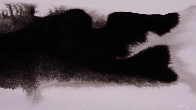 Ink Flow 02: Stock Video