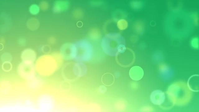 Green Bubble Pop: Stock Motion Graphics