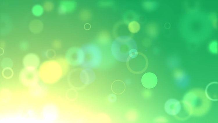 Green Bubble Pop: Motion Graphics