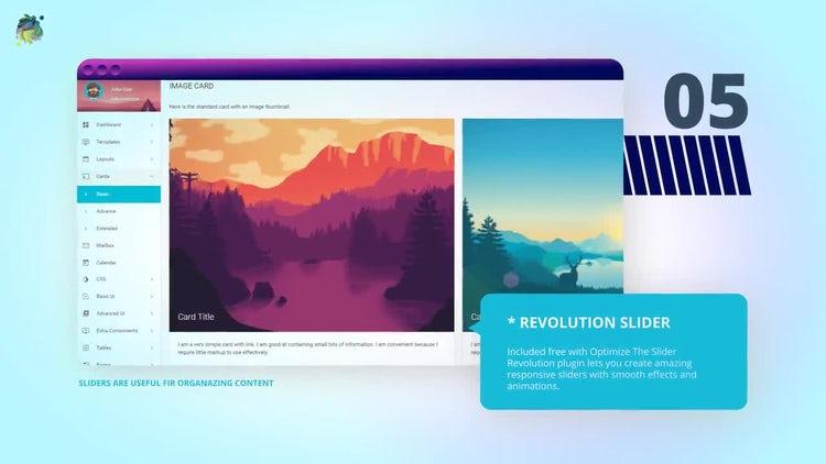 Developer Mockup Website Portfolio: After Effects Templates