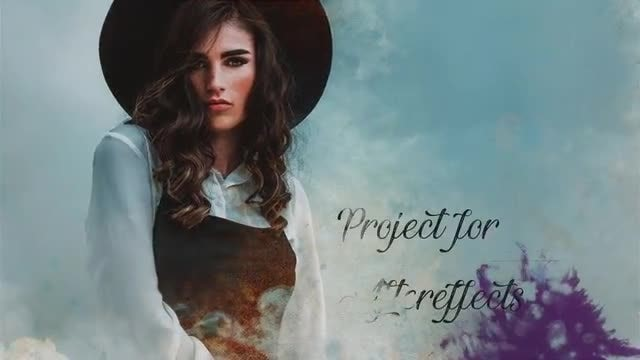 Watercolor Reveal Photos: After Effects Templates