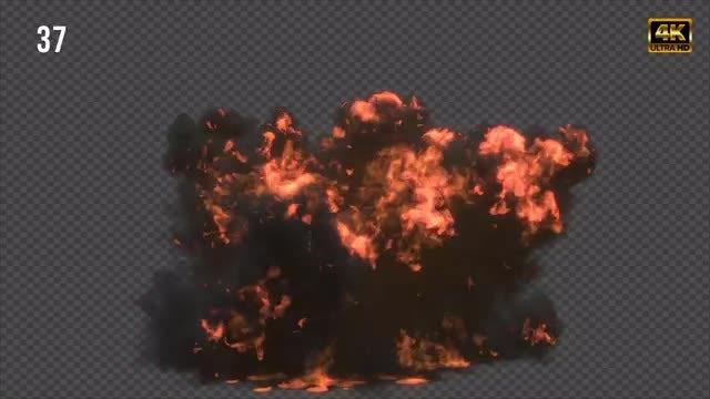 Gasoline Explosion: Stock Motion Graphics
