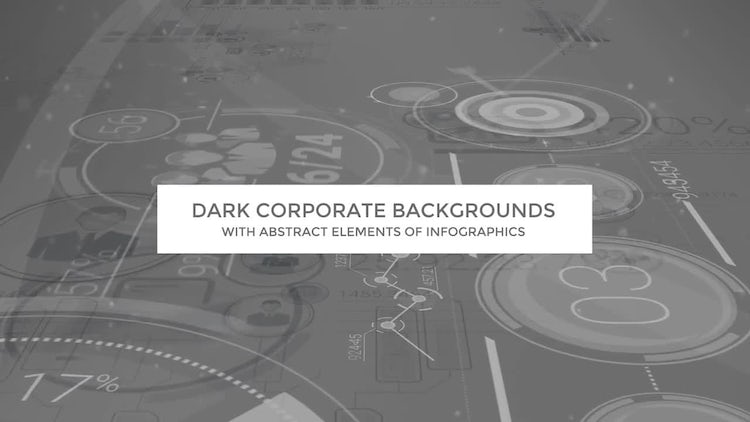 Dark Corporate Backgrounds: Motion Graphics