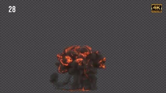 Gasoline Explosion 3: Stock Motion Graphics