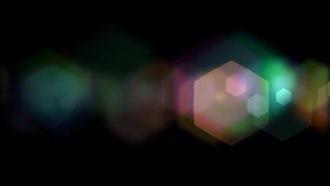 Hexagonal Bokeh: Motion Graphics