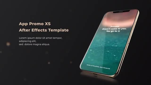 Gold Phone XS: After Effects Templates