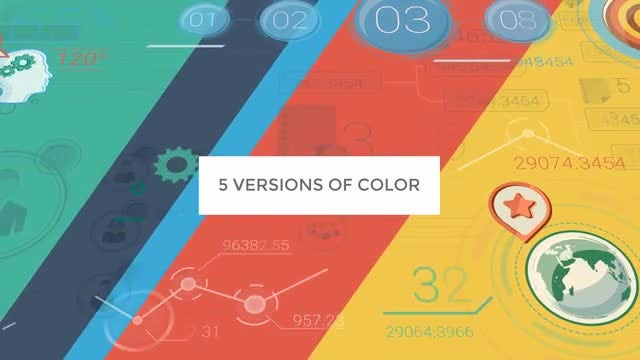 Colorful Corporate Backgrounds: Stock Motion Graphics