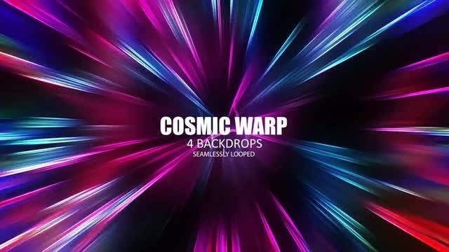 Cosmic Warp Pack: Stock Motion Graphics