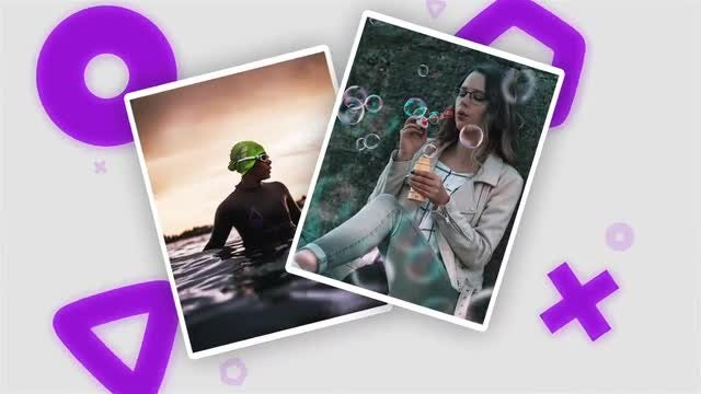Shapes and Frames Slideshow: After Effects Templates