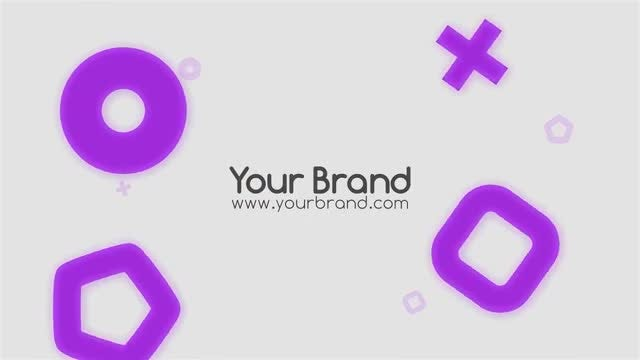 Shapes Titles: Motion Graphics Templates